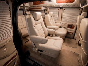 Chevrolet Express II – настоящий американский семейный минивэн.