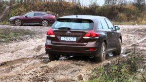 Toyota Venza – доехать до дачи в любую погоду.