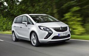 Opel Zafira 3 – отличный минивэн с крутым дизайном.