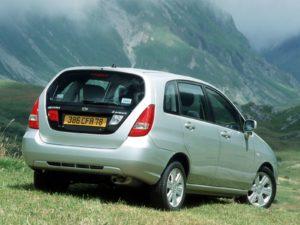 Suzuki Liana – полный привод, надёжный двигатель и АКПП, вместительный салон.