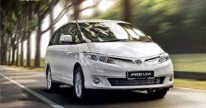Toyota Previa III поколения – семейный минивэн из Японии