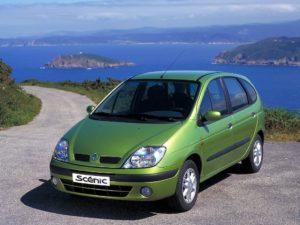 Renault Scenic начало. Первое поколение знаменитого минивэна.