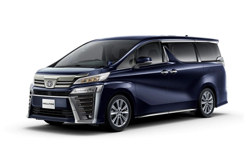 Toyota Alphard и Vellfire появился золотистый декор. Vellfire Z Golden Eyes Alphard S Type Gold