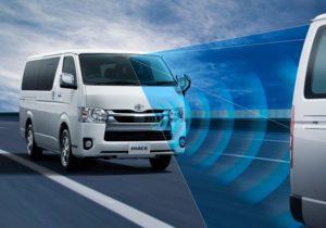 Toyota Hiace – еще больше безопасности!