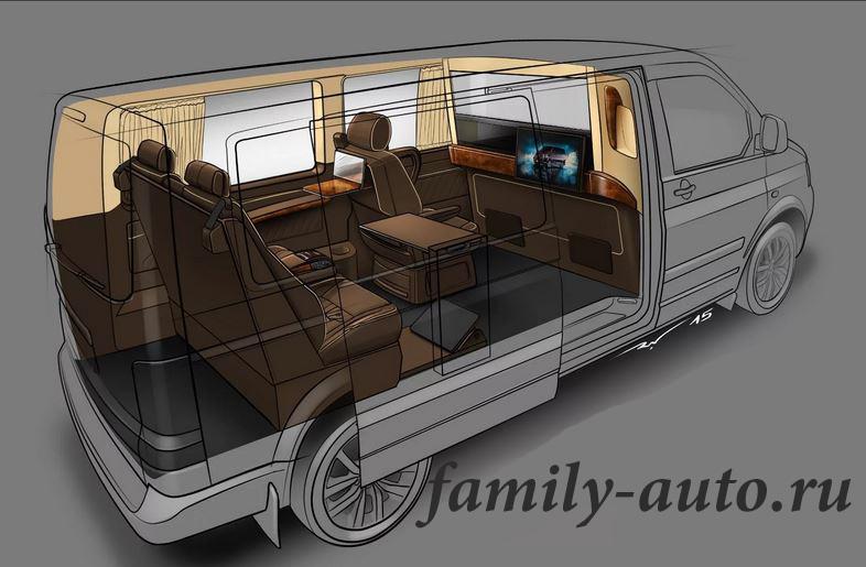 Минивэ́н (minivan — «небольшой фургон») — тип кузова легкового автомобиля, в котором расположены три и более ряда сидений с запасом пассажирского пространства. Кузов минивэна чаще всего однообъемный и высокий с полукатной передней частью автомобиля.