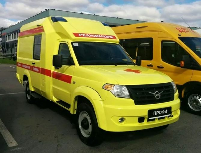 Выпуск скорой помощи УАЗ на базе Профи