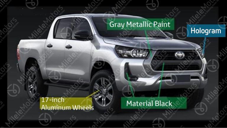 Обнавлённая Toyota Hilux