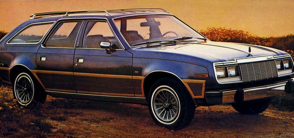 кроссовер AMC Eagle 1979 года. История кроссоверов  У этого легкового седана с увеличенным дорожным просветом был непостоянный передний привод,