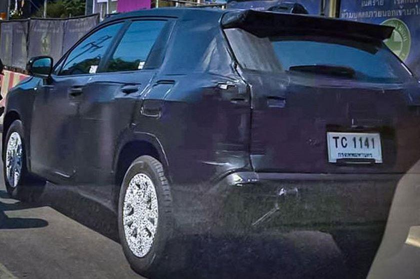 испытательный мул Toyota Corolla Cross