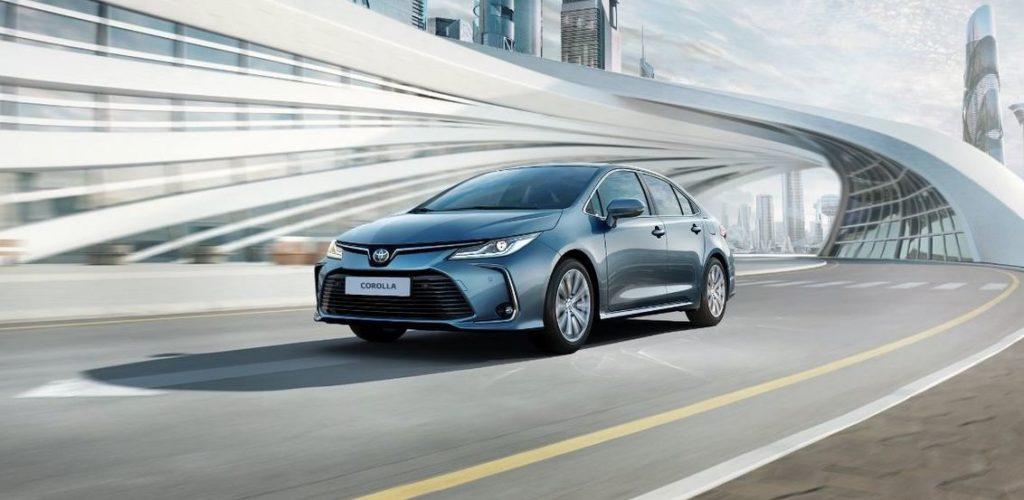 Toyota Corolla последнего поколения