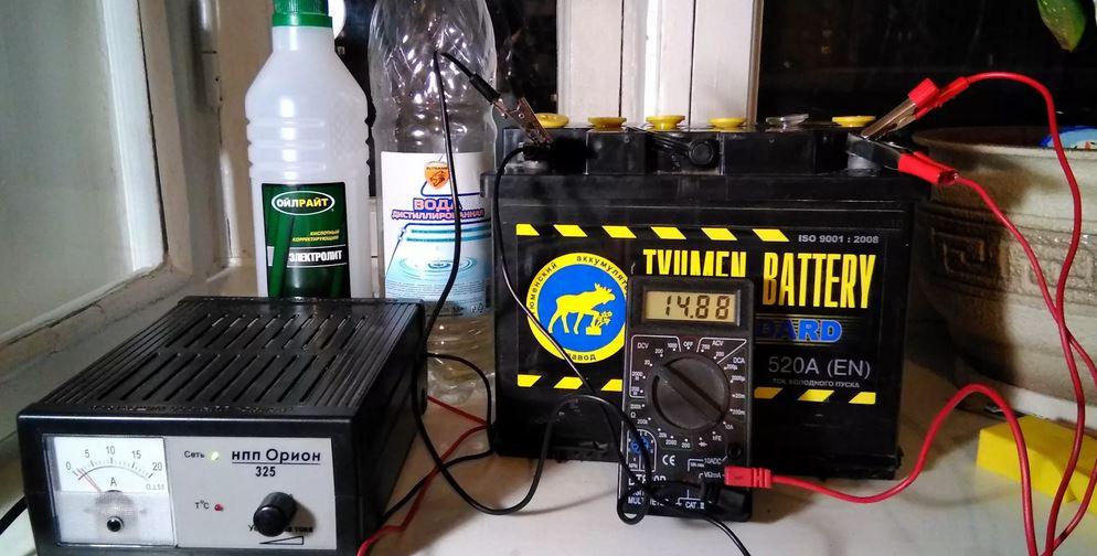 Нет зарядки АКБ. Причины неисправности. Вышедшая из строя аккумуляторная батарея.