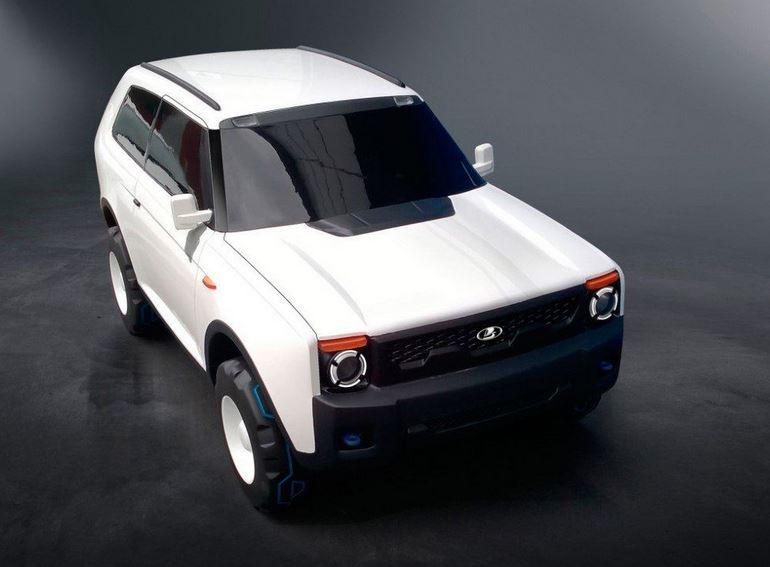 Модель Новой Lada 4x4 на базе Renault Duster