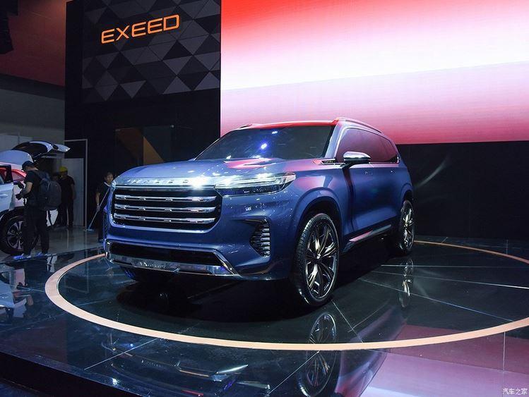 Новый кроссовер Chery Exeed VX скоро в РФ! Китайская Chery Automobile запатентовала в России внешний вид своего перспективного полноразмерного кроссовера