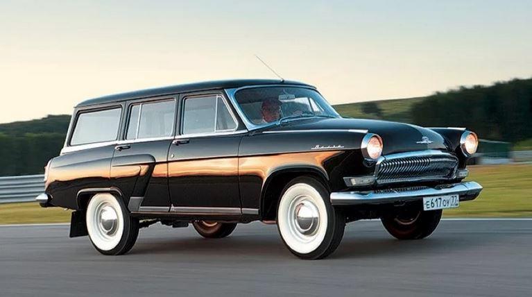 ГАЗ 22, выпускалась с 1962 года История советского универсала.
