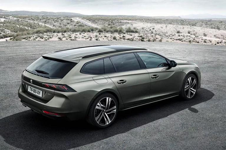 SW (Sport Wagon) от которого просто нереально оторвать взгляд.  Peugeot 508  Sport Wagon 2019