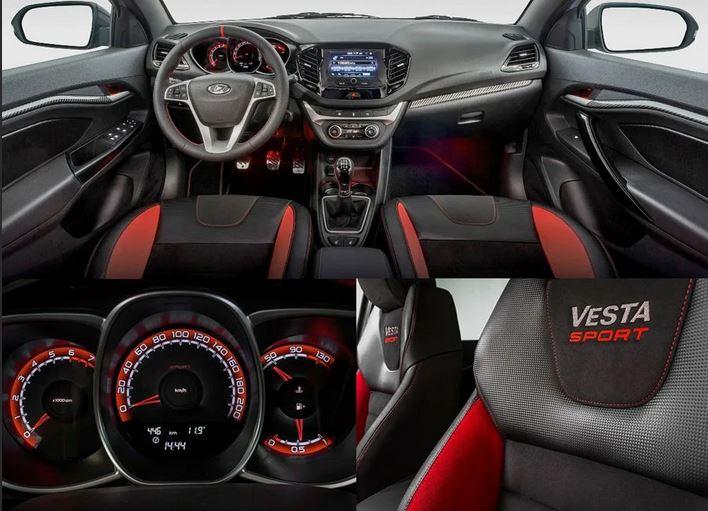 Автомобиль выпускается в трех комплектациях:  LADA Vesta - автомобиль малого класса, пришедший на смену устаревшей Приоре.