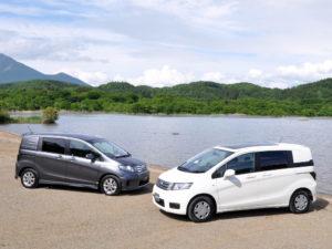 Honda Freed Spike – практичный и функциональный минивэн