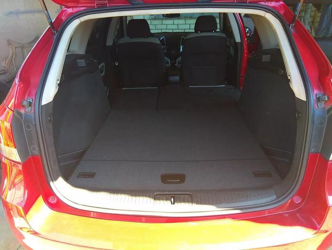 Размеры и характеристики Chevrolet Cruze