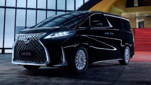 Lexus LM – первый премиальный минивэн от Lexus