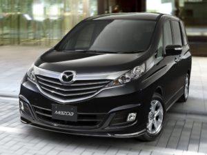Mazda Biante – вместительный и красивый минивен с полным приводом.