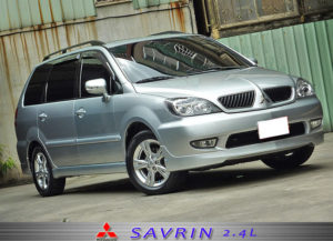 Mitsubishi Savrin – вместительный семейный минивэн
