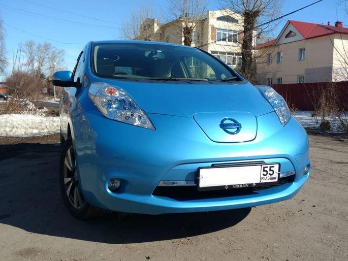 Адаптация Nissan Leaf к РФ.