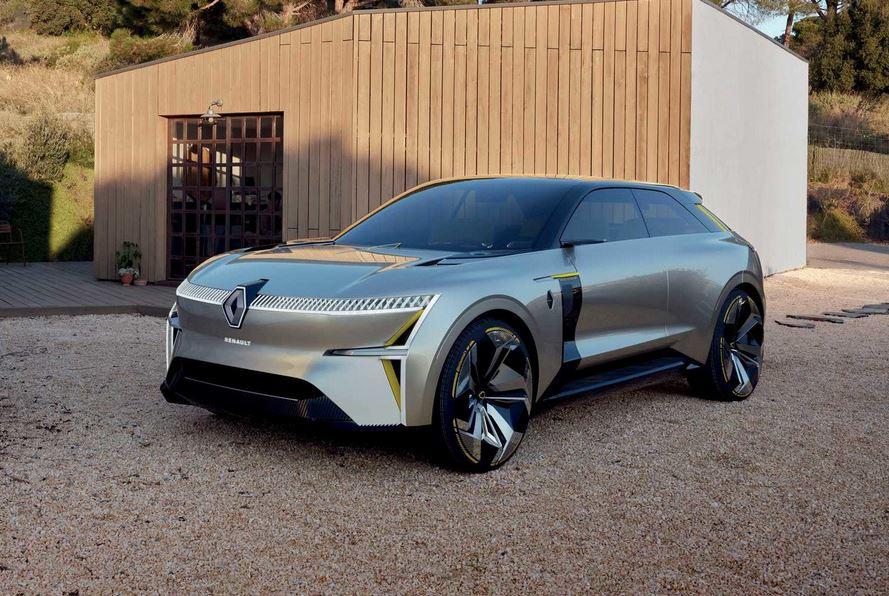 Renault Morphoz, концепт кар/ У Renault скоро появятся два электрических кроссовера