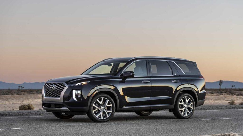 Новые Hyundai уже в сентябре в РФ Hyundai Palisade