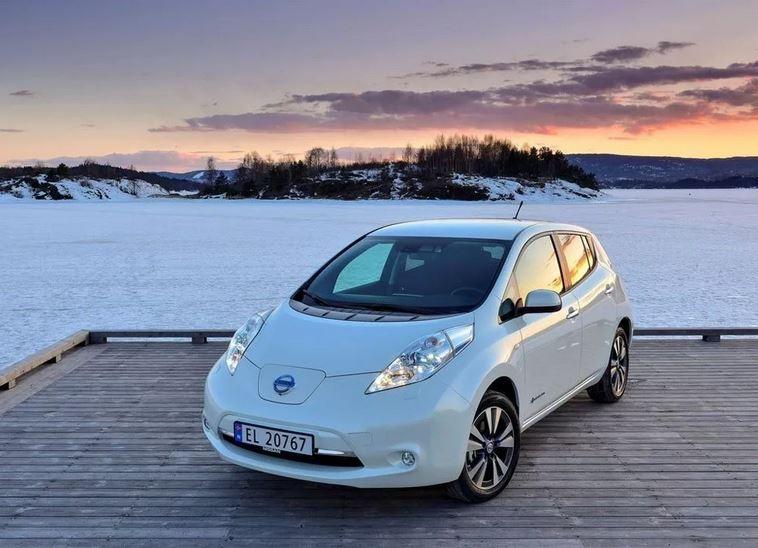 Электромобиль Nissan Leaf первого поколения