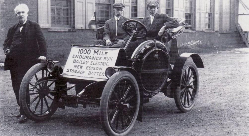 Электромобиль - история, развитие, будущее!  Такси в Нью-Йорке 1910 год