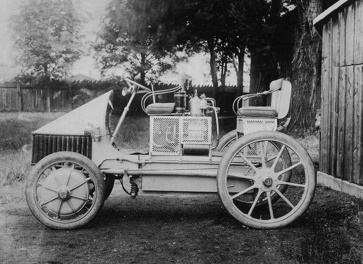Lohner-Porsche - первый гибрид. История гибрида. Автомобиль-гибрид