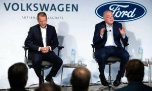 Ford и Volkswagen обьеденились и финансируют искусственный интелект