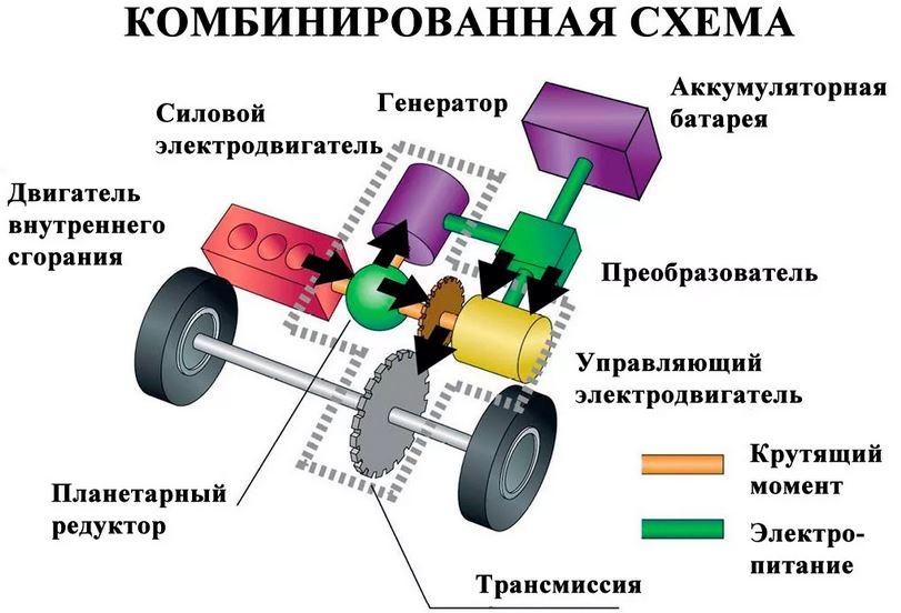 Разновидности и классификация гибрида