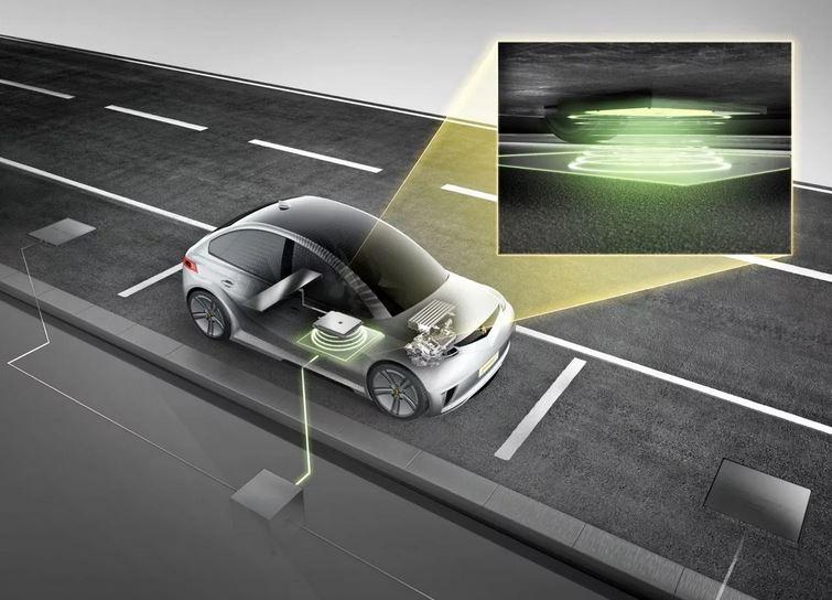 Беспроводная зарядка автомобиля