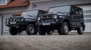 Электрический УАЗ Хантер стоит больше 3 млн ₽