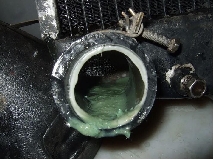 Последствия герметика в системе охлаждения