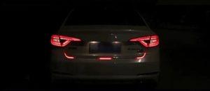 Динамическая светодиодная лента на Nissan Leaf (бегущий поворотник)