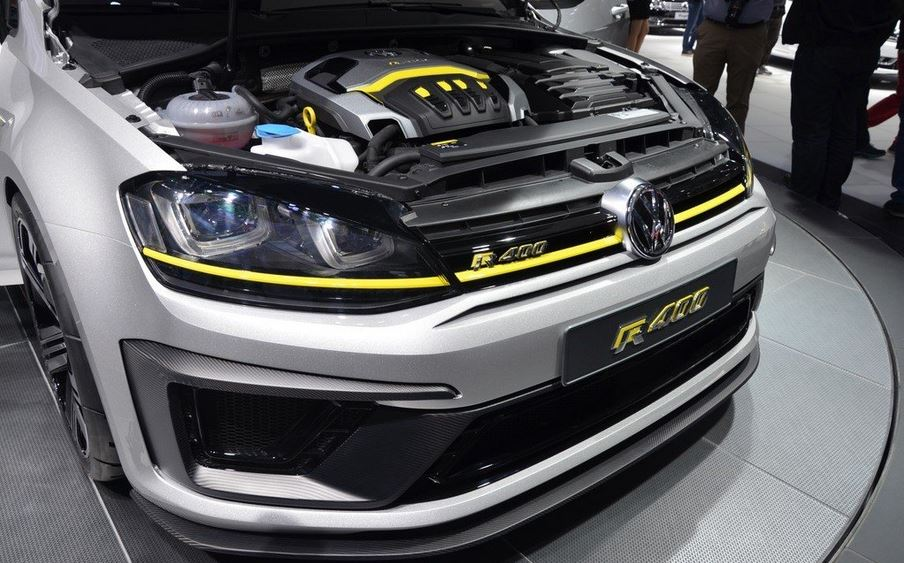 410 сильный Volkswagen Golf R+