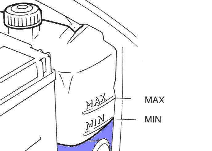 Проверять уровень охлаждающей жидкости надо не реже одного раза в 1000 км. ОЖ иимеет свойство выкипать, допускается в незначительных объемах.