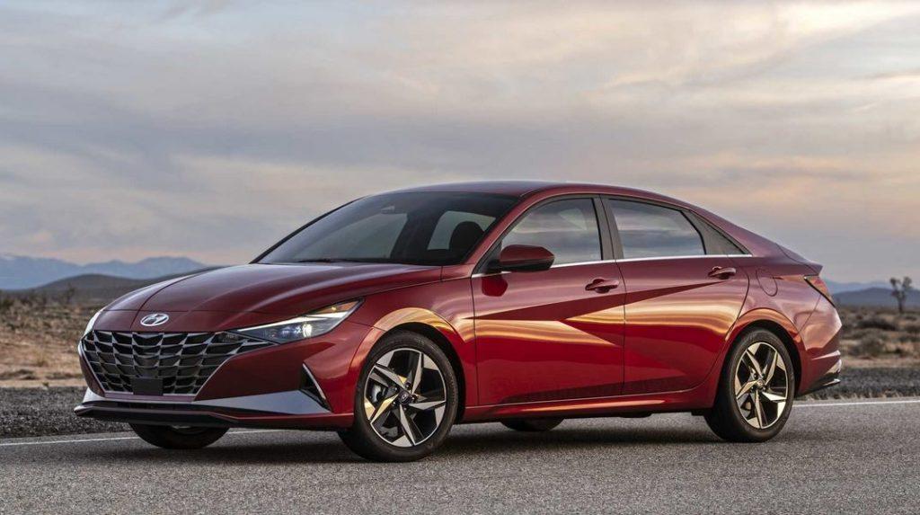 Новые Hyundai уже в сентябре в РФ Hyundai Elantra