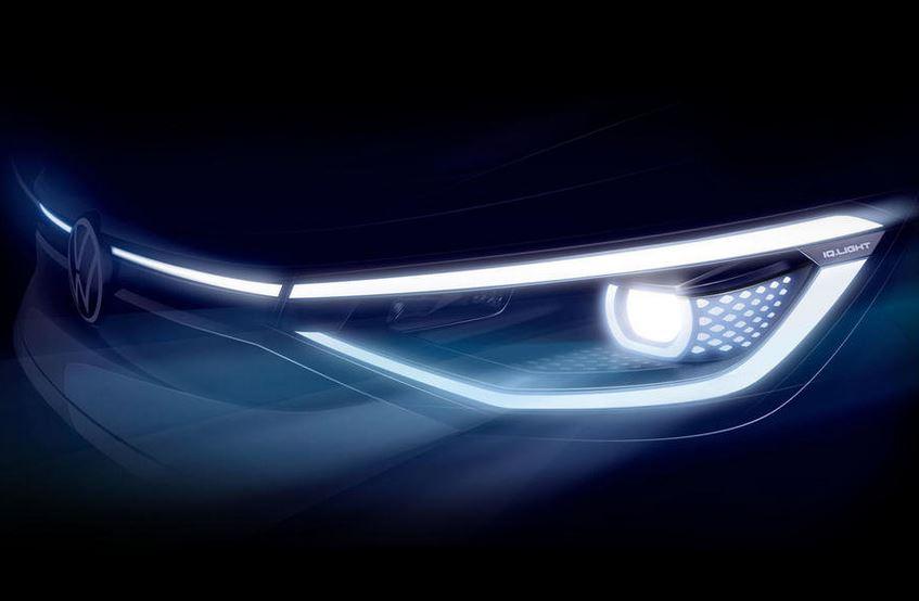 Volkswagen показал свой первый электрический кроссовер ID.4