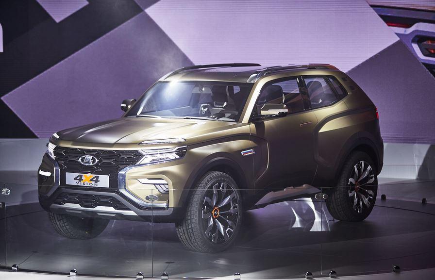 Новые автомобили АвтоВАЗ. Фото концепт-каров. был шоу-кар Vision 4x4