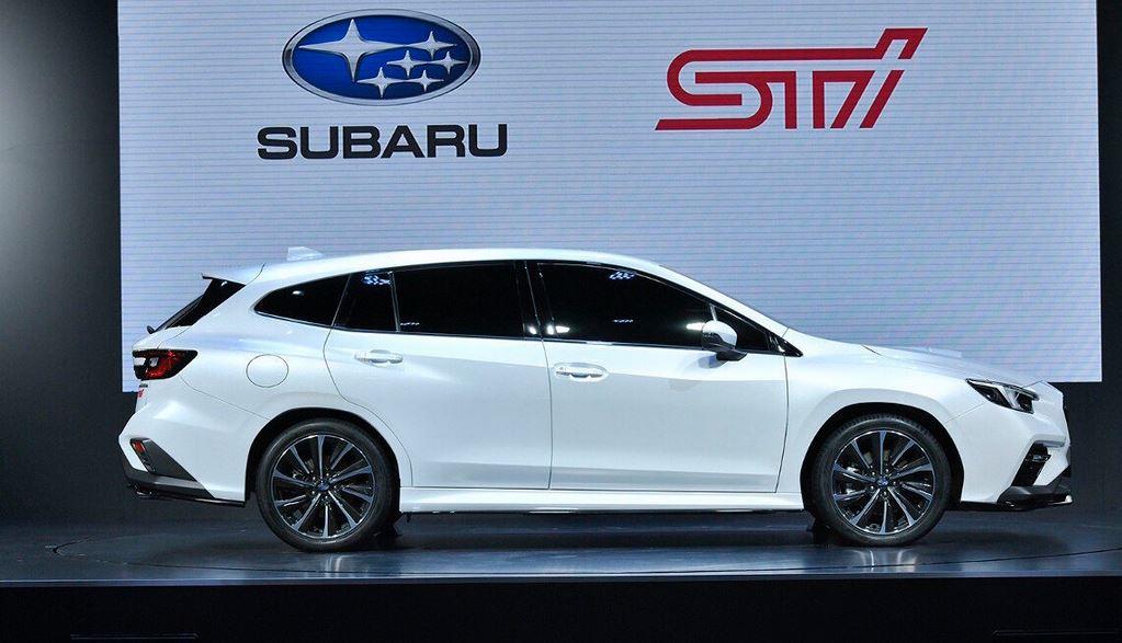 Новый Subaru Levorg универсал, версии STI Sport