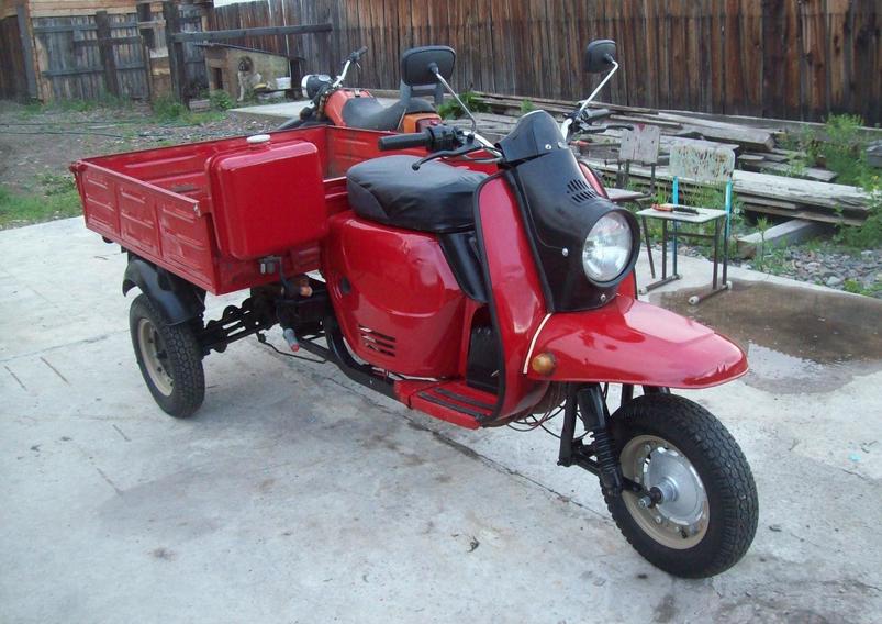 Мотороллер «Муравей» 1959 по 1995 год