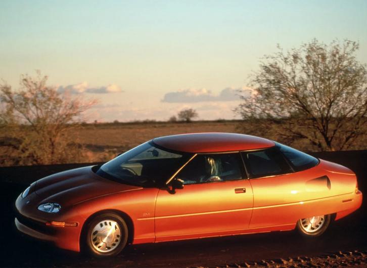 Электромобиль - история, развитие, будущее!  Электромобиль GM EV1 был выпущен в США в 1996 — 2003 годах