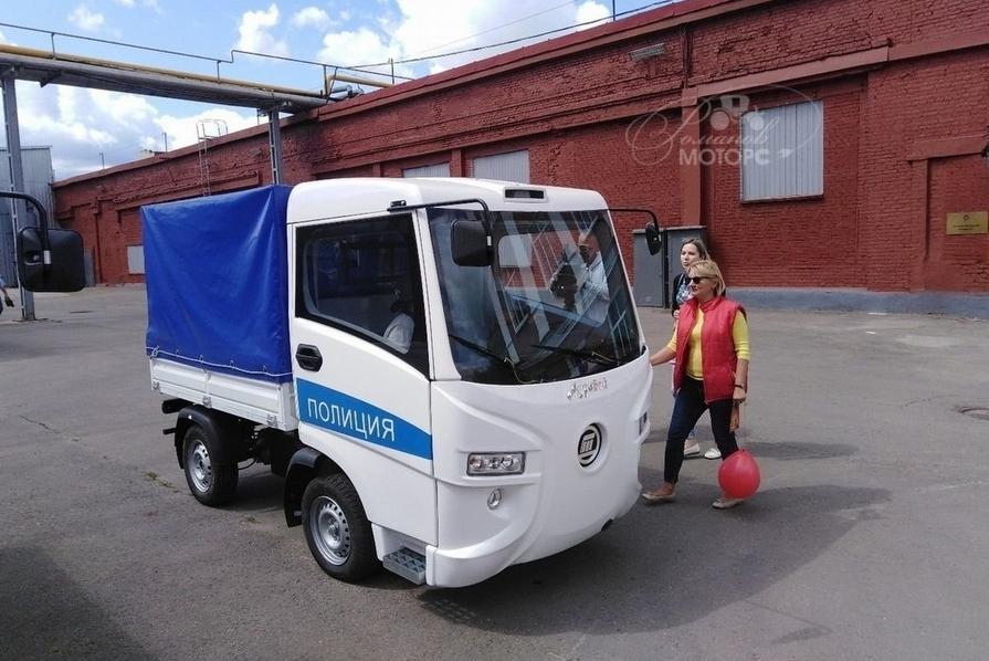 Начались продажи российского электрогрузовика «Муравей»
