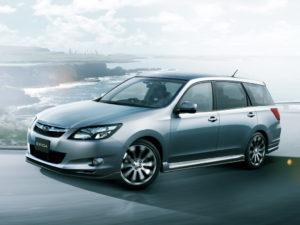 Subaru Exiga – минивэн с оппозитным двигателем