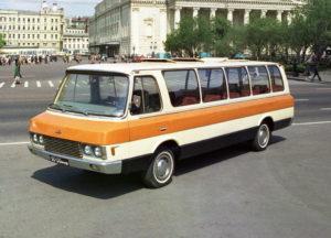 ЗИЛ 3207 редкий автобус 90х