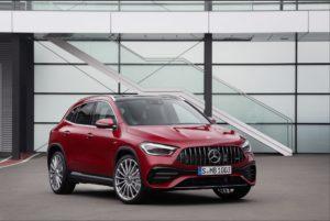 Mercedes-AMG GLA начало продаж в России