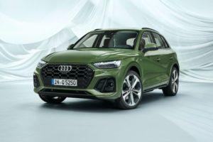 Кроссовер Audi Q5 новый дизайн и техническая начинка
